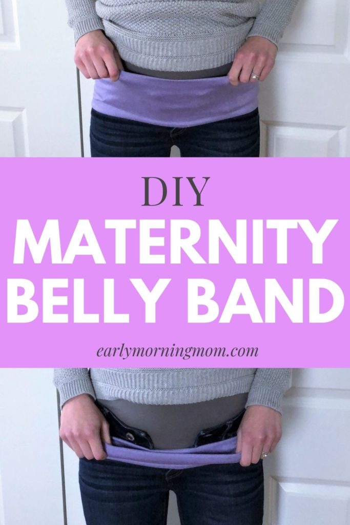 Maternity belly band
