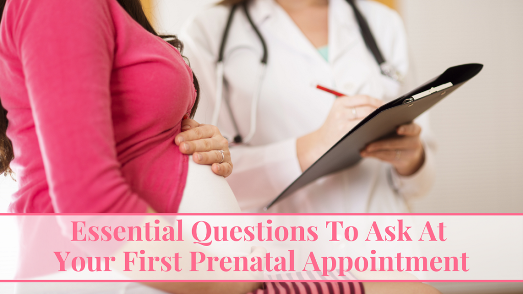 First prenatal appointment