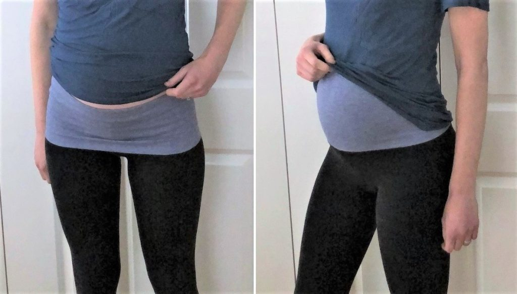 DIY Maternity Leggings